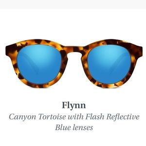 Warby Parker Flynn Sunglasses in Canyon Tortoise